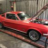 1968 - Ford Mustang Fastback 302 V8 J Code 4 speed